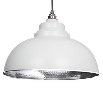 From The Anvil Harborne Pendant Light Hammer Light Grey