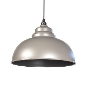 From The Anvil Harborne Pendant Light Warm Grey