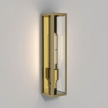 Harvard Wall Light Coastal Range Natural Brass