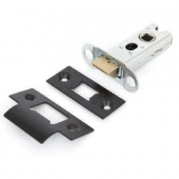 """From The Anvil Heavy Duty Mortice Latch 2.5"""" Black"""