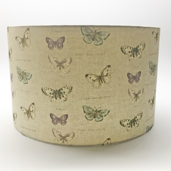 Hereford Pendant 30cm Shade - Butterfly Design