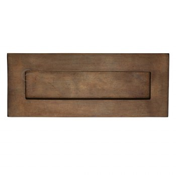 Heritage Letter Plate RBL465 Solid Rustic Bronze