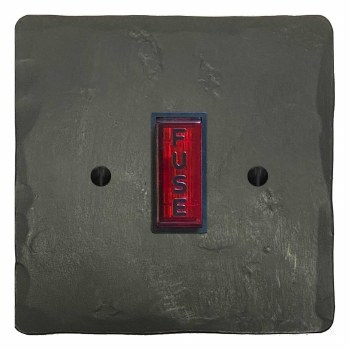 Hand Forged Fused Spur Connection Unit Illuminated Indicator Anthracite