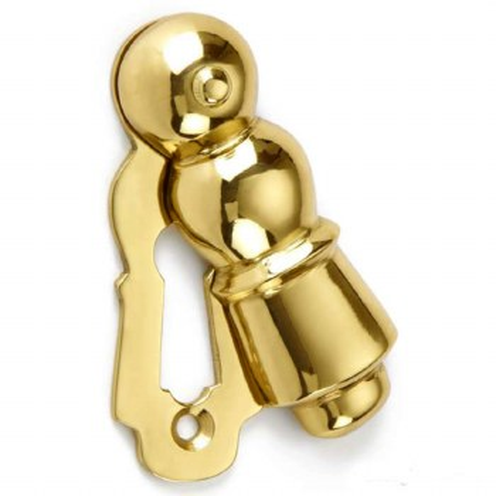 Croft Highgrove Escutcheon 4568 Polished Brass Unlacquered