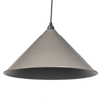 From The Anvil Hockley Pendant Light Warm Grey