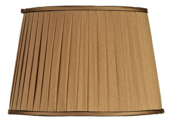 Howard Pleated & Trimmed Shade - Gold