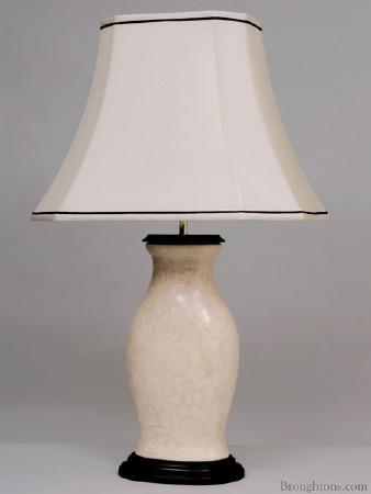 Cream Ceramic Table Light