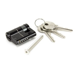 From The Anvil Euro Single Lock Cylinder 30/10 Black
