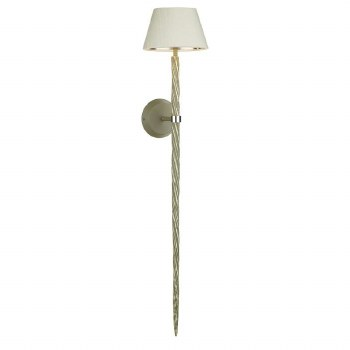 David Hunt ICE0739 Ice Single Wall Light Aged Grey Fitting Only