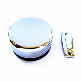 Dereve Imperial Wind-Up Door Bell Chrome