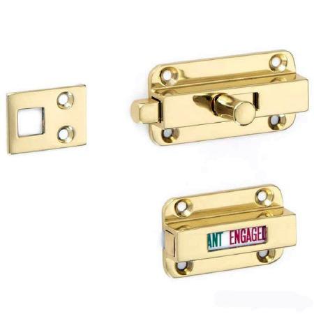 Croft Indicator Bolt Polished Brass Unlacquered