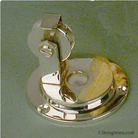 Blanking Pulley for Butlers Door Bell Antique Nickel