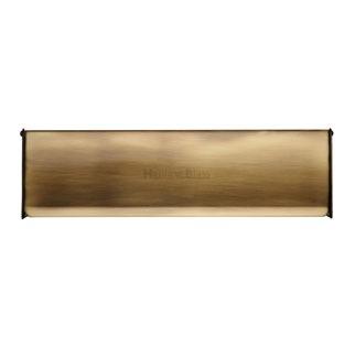 Interior Letterflap V860 Large Antique Brass