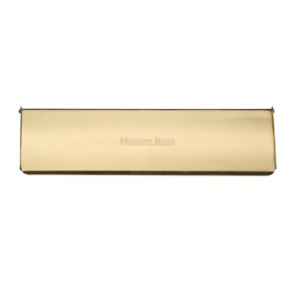 Interior Letterflap V860 Small Polished Brass
