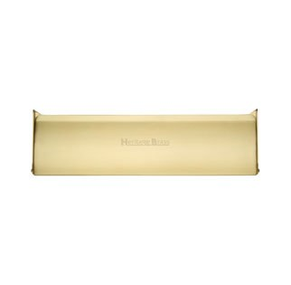 Interior Letterflap V860 Large Satin Brass