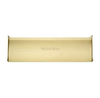 Interior Letterflap V860 Small Satin Brass