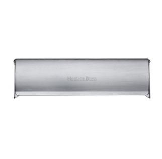 Interior Letterflap V860 Large Satin Chrome