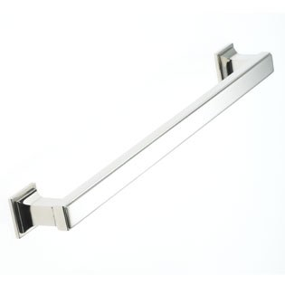 Armac Jefferson Cabinet Handle 152mm Centres Polished Nickel