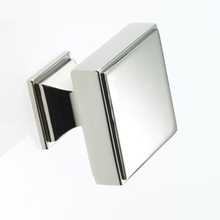 Armac Jefferson Cabinet or Cupboard Knob 32mm Polished Nickel