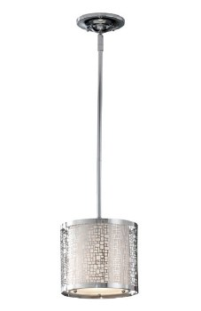 Feiss Joplin Mini Pendant Light Polished Chrome