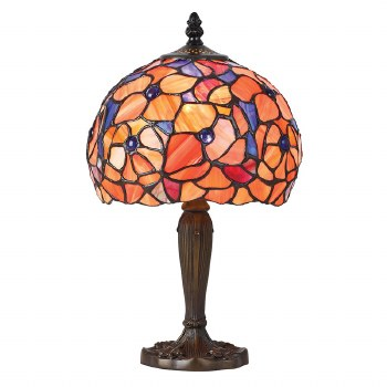 Interiors 1900 Josette Small Tiffany Table Lamp