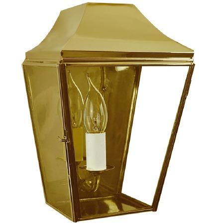 Knightsbrigde Half Small Lantern Polished Brass