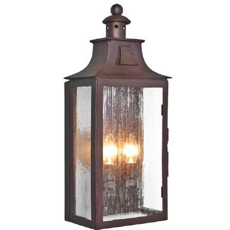 Elstead Kendal Flush Outdoor Wall Light Lantern