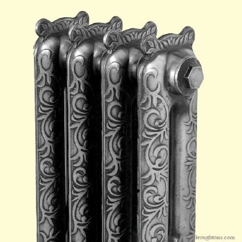 The Kensington Cast Iron Radiator with Crown