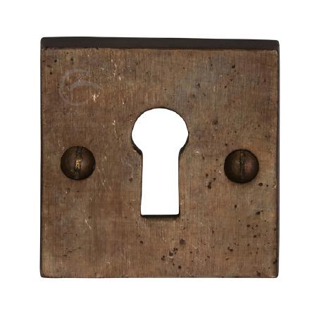Heritage Key Escutcheon RBL159 Solid Rustic Bronze