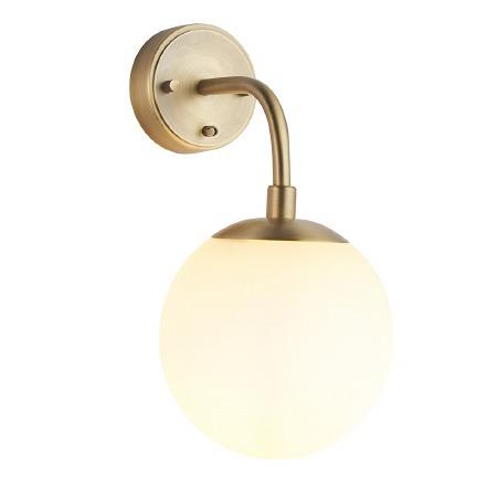 Kimmeridge 1 Light Wall Light Matt Antique Brass