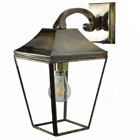 Knightsbridge Outdoor Overhead Wall Lantern Light Antique