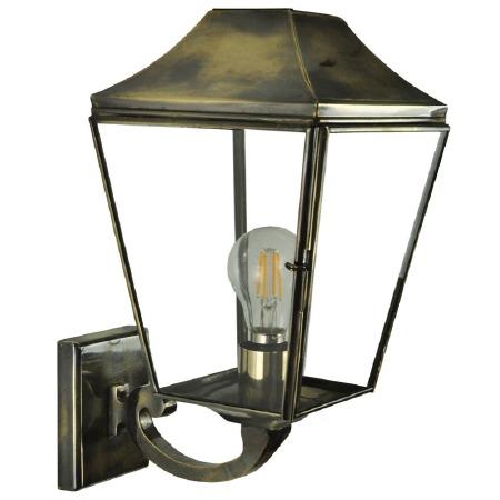 Knightsbridge Outdoor Wall Lantern Light Antique