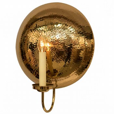 La Luna Wall Light Sconce Large Polished Brass Unlacquered
