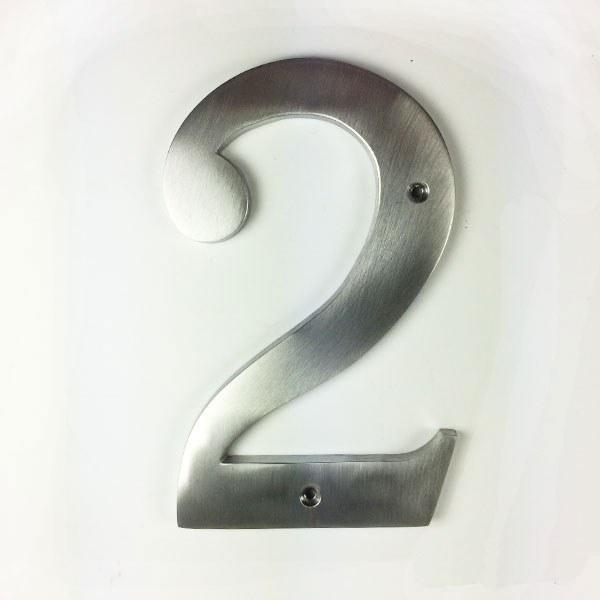 Antique Victorian Solid Brass Numerals #6//9