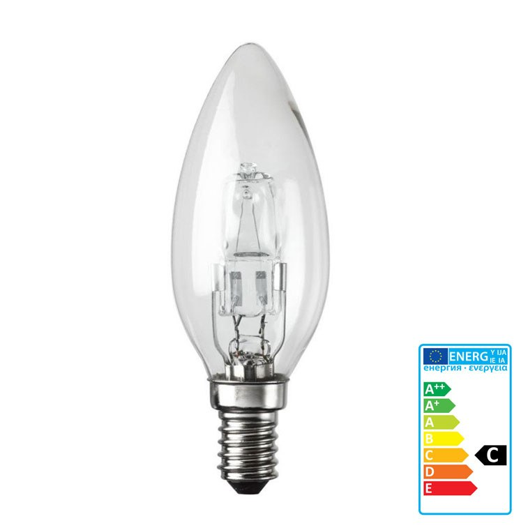Halogen Candle Light Bulb Ses 18w