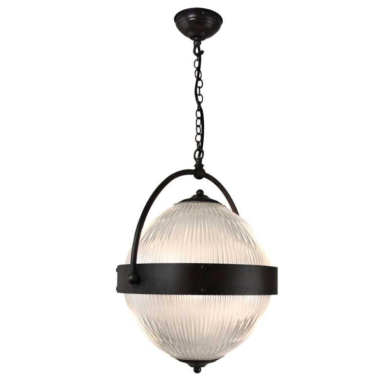 Globe Pendant Light Large Black