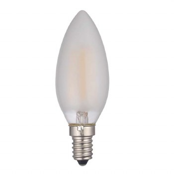 Candle Frosted Bulb SES/E14 4W LED Dimmable