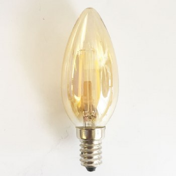 LED Delicately Tinted Candle Bulb SES 1 Watt
