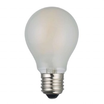 LED ES Frosted GLS Bulb 8W Dimmable