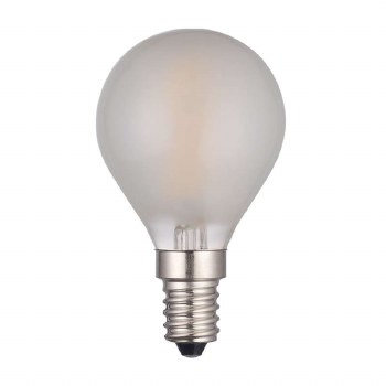 Golf Ball Frosted SES/E14 4W LED Dimmable