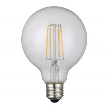LED ES Globe Bulb 6W Dimmable