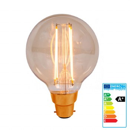 Vintage Style LED Globe Light Bulb BC 4W