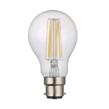 LED BC GLS Bulb 8W Dimmable