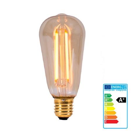 Vintage Style LED Squirrel Light Bulb ES 4W