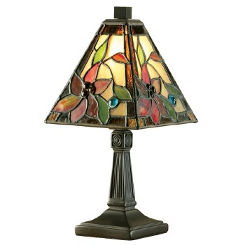 Interiors 1900 Lelani Mini Tiffany Table Lamp