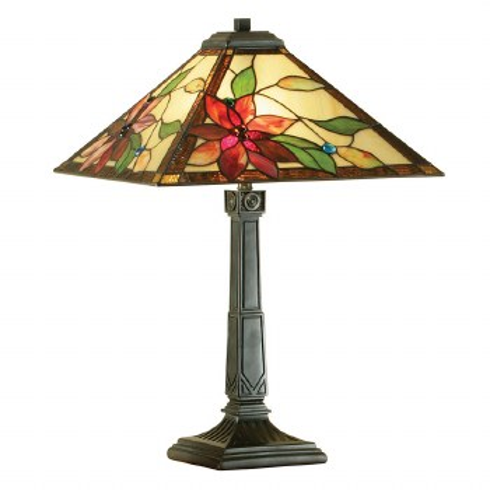 Interiors 1900 Lelani Tiffany Table Lamp