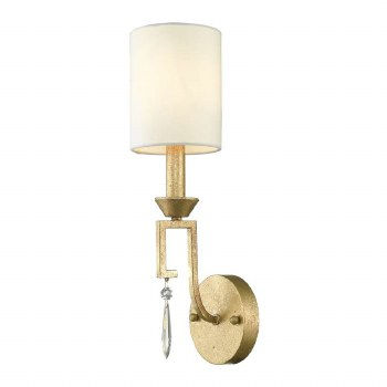 Gilded Nola Lemuria Single Wall Light