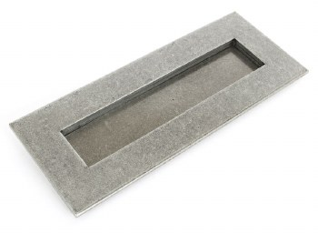 From The Anvil Small Letter Plate Pewter 266mm