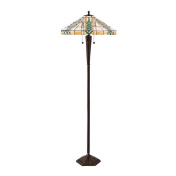 Interiors 1900 Lloyd Tiffany Floor Lamp 70667