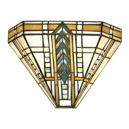 Interiors 1900 Lloyd Tiffany Wall Light